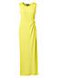 La Maxi Robe Taille Nouée en Coton Modal Stretch, Femme Stature Standard