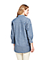 La Tunique en Chambray Stretch Manches 3/4, Femme Stature Standard