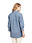 Women's Chambray Three-Quarter Sleeve Tunic
