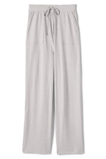 Women's Linen Blend Wide Leg Trousers