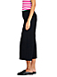 Women's Mid Rise Ponte Wide Leg Cropped Trousers