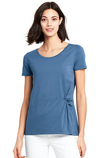 Women's Summer Top with Side Knot