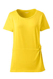 Women's Petite Side Knot T-shirt