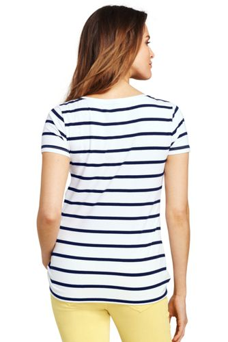 Lands' End - Summer Top with Side Knot - 2
