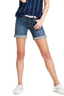 Comprar precio barato Pantalones Cortos De Mezclilla Para Mujer Rodillo Del Dobladillo - 14/16 - Tierras Rojas Terminan Amazon Venta en línea su9zfec