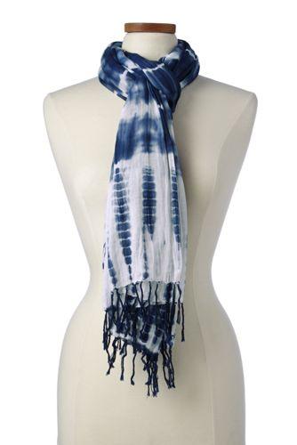 Women's Tie Dye Scarf
