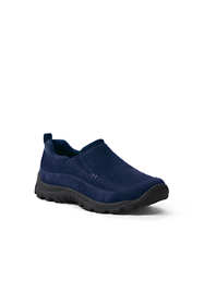 School Uniform Kids Wide All Weather Moc Shoes