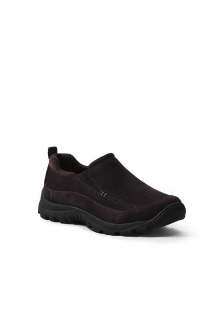 School Uniform Kids All Weather Suede Moc Shoes