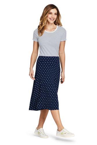 6714627a8f4 Women s Floral Knit Midi Skirt