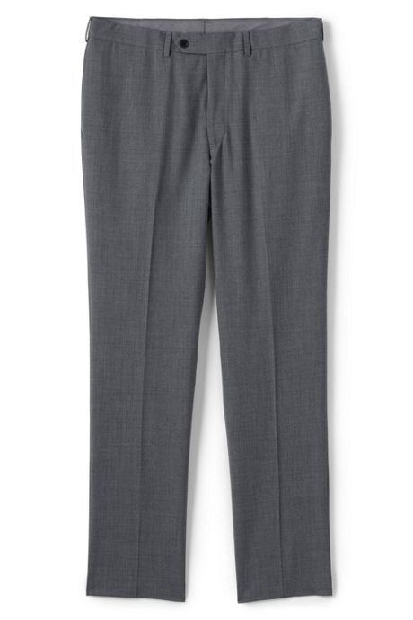 Men's Traditional Fit Suit Pants