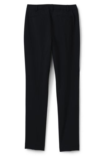 Women's Petite Washable Wool Slim Pants