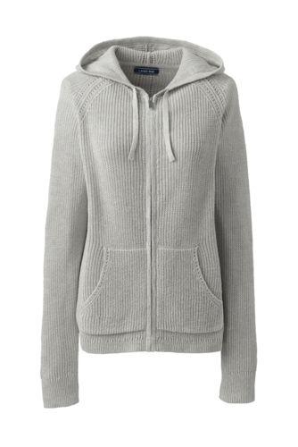 Women's Linen Cotton Zip Hoodie