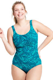 Women's Plus Size DDD-Cup Slender Underwire Carmela One Piece Swimsuit with Tummy Control