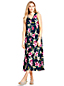 Women's Petite Floral Midi Dress