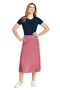 45063f21d45 Women s Stripe Knit Midi Skirt