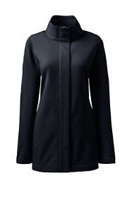 Women's Plus Size Feminine Long Soft Shell Jacket
