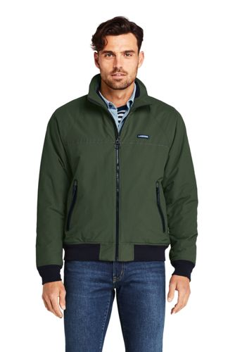 Lands End Men's Classic Squall Jacket (Evergreen Forest)