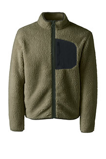 Men's Sherpa Fleece Jacket