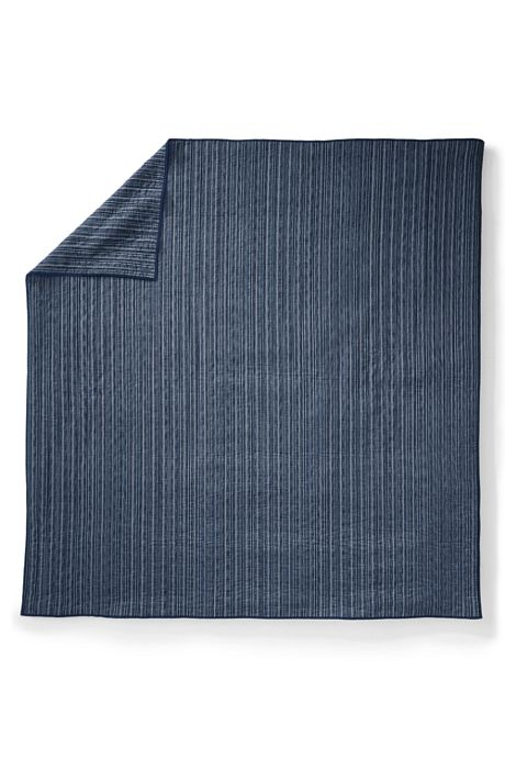 Dobby Stripe Coverlet