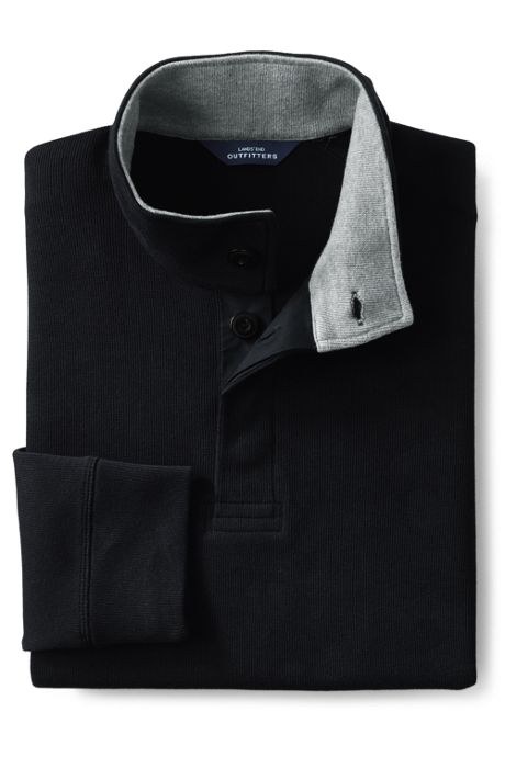Men's Bedford Rib Button Through Popover