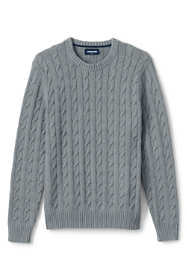 Men's Cotton Drifter Cable Crew Sweater