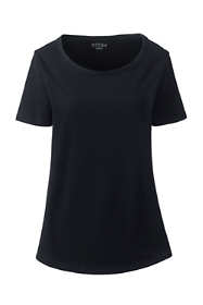 Women's Plus Size Short Sleeve Layering T-shirt
