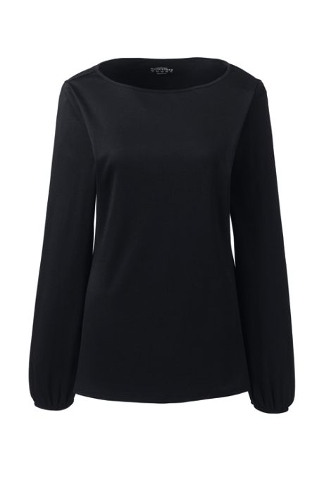 Women's Supima Micro Modal Blouson Sleeve Top
