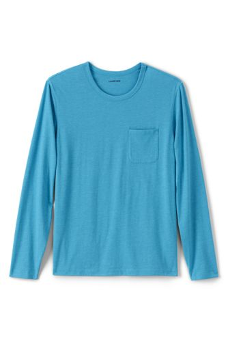 Men's Washed Jersey Long Sleeve T-shirt