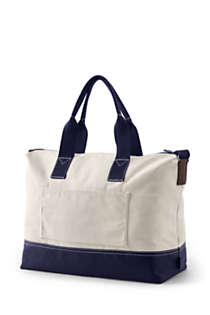 Canvas Weekender Duffle Bag, Back