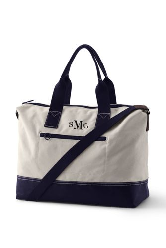 Le Sac Week-End en Coton Canvas