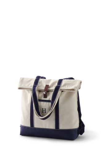 Convertible Canvas Backpack