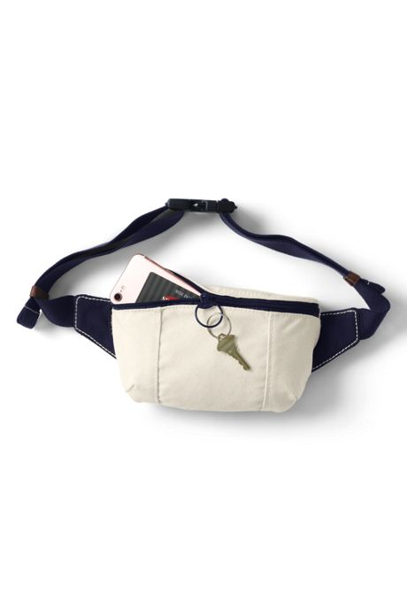Canvas Fanny Pack Belt Bag