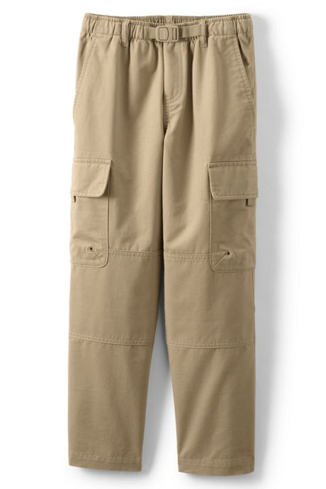 Boys Slim Iron Knee Cargo Climber Pants