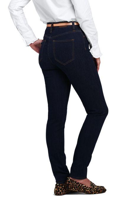 Women's Tall Mid Rise Curvy Skinny Jeans