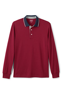 Men's Tipped Collar Supima Polo Shirt