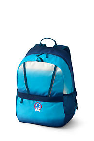 Lands/' End Boys/' ClassMate Deep Sea Blue Medium Backpack
