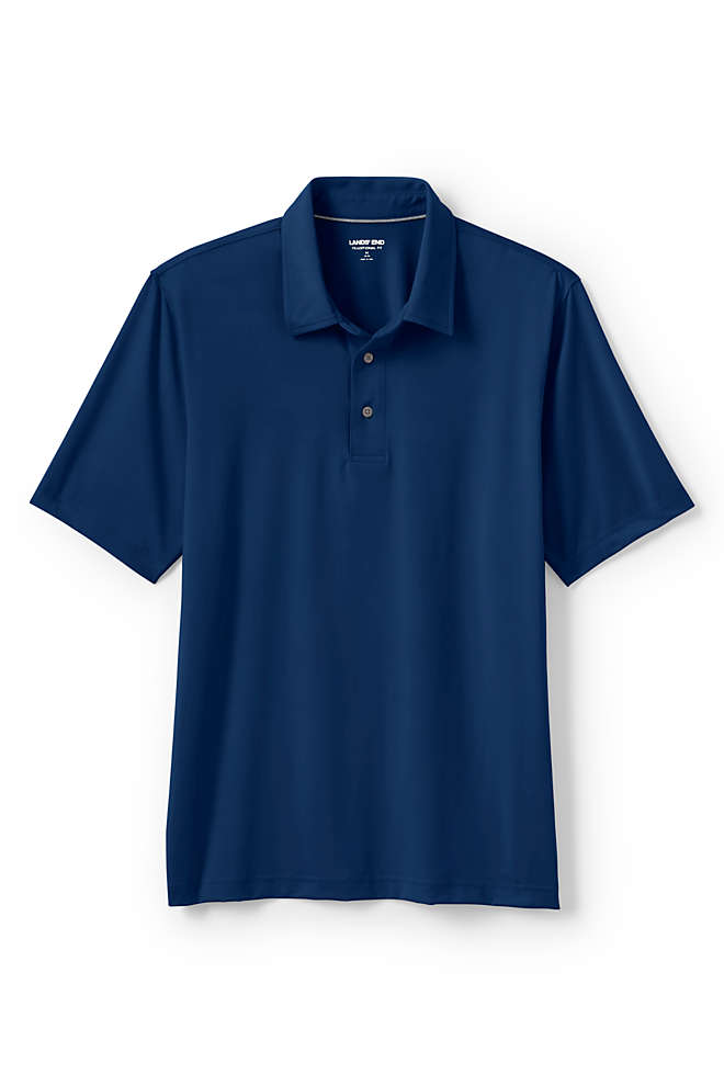 Men's Tailored Short Sleeve Comfort-First Golf Polo Shirt, Front
