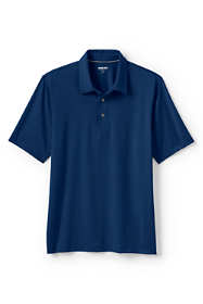 Men's Big and Tall Short Sleeve Solid Golf Polo