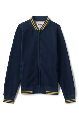 Men's Serious Sweats Varsity Track Jacket