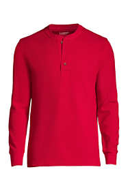 Men's Long Sleeve Comfort-First Thermal Waffle Henley