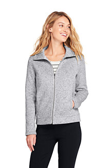 Women's Funnel Neck Fleece Jacket