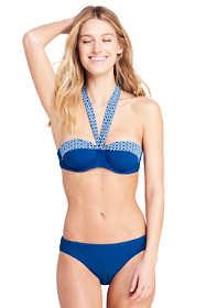 Women's D-Cup Convertible Underwire Bikini Top