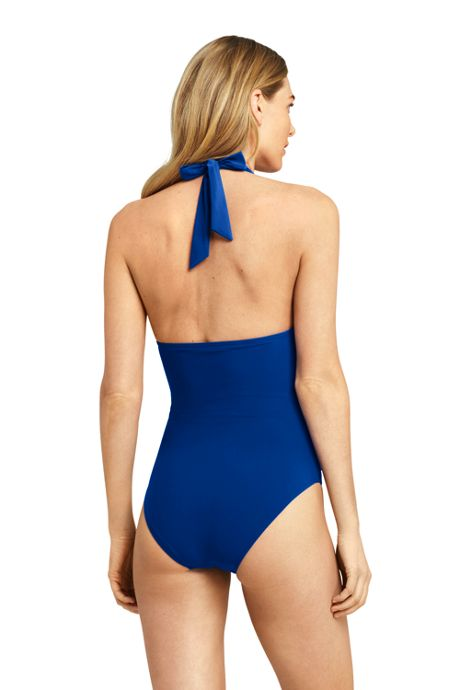 Women's Halter One Piece Swimsuit