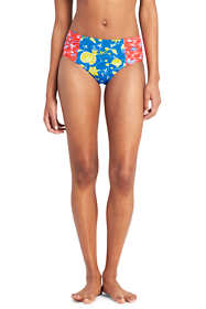 Women's Retro High Waisted Bikini Bottoms