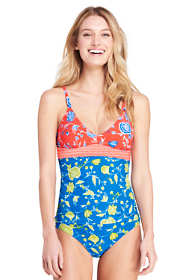 Women's V-neck Tankini Top