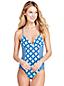 Women's Sunrise Collection Swimsuit Geo Tile