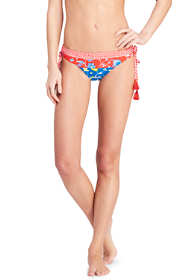 Women's Tassel Low Waist Hipster Bikini Bottoms