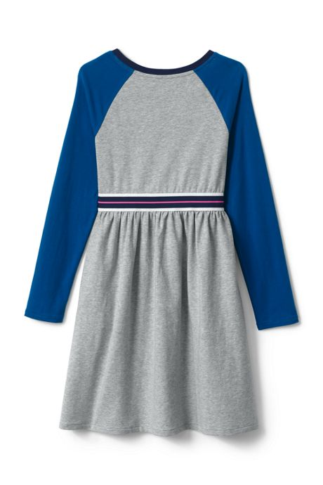 Girls Plus Colorblock Jersey Dress