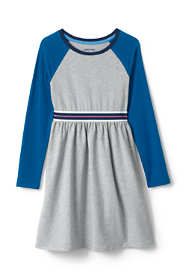 Girls Colorblock Jersey Dress