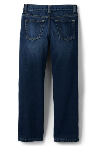 Boys Slim Iron Knee Lined Classic Fit Jeans